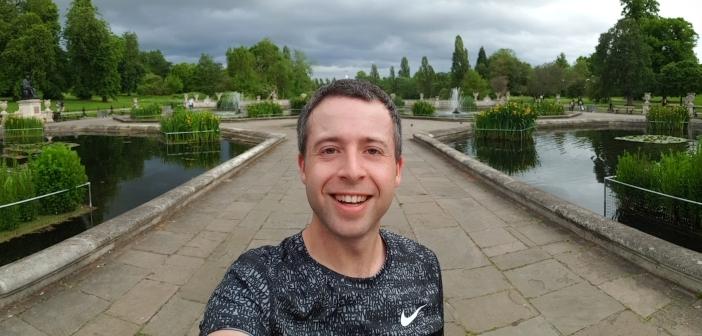 Trening w Hyde Park